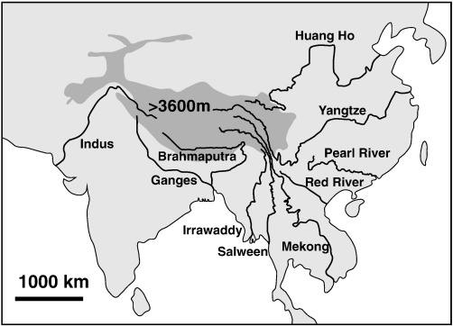 Chemical fluxes from time series sampling of the Irrawaddy and
