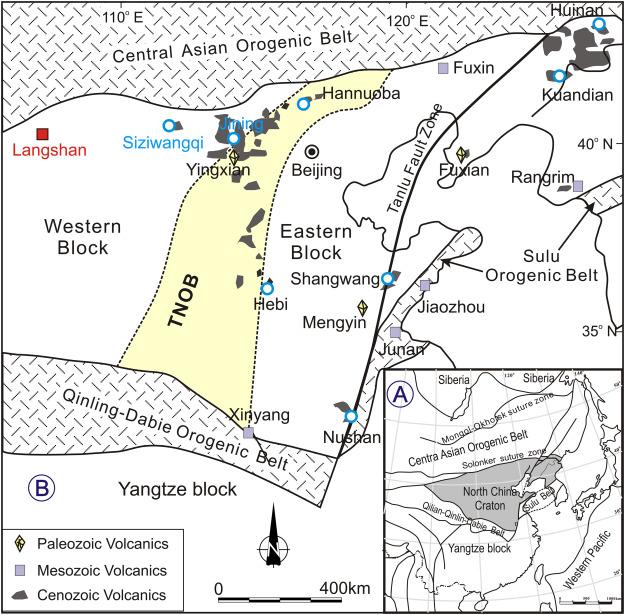 Langshan basalts record recycled Paleo-Asian oceanic materials