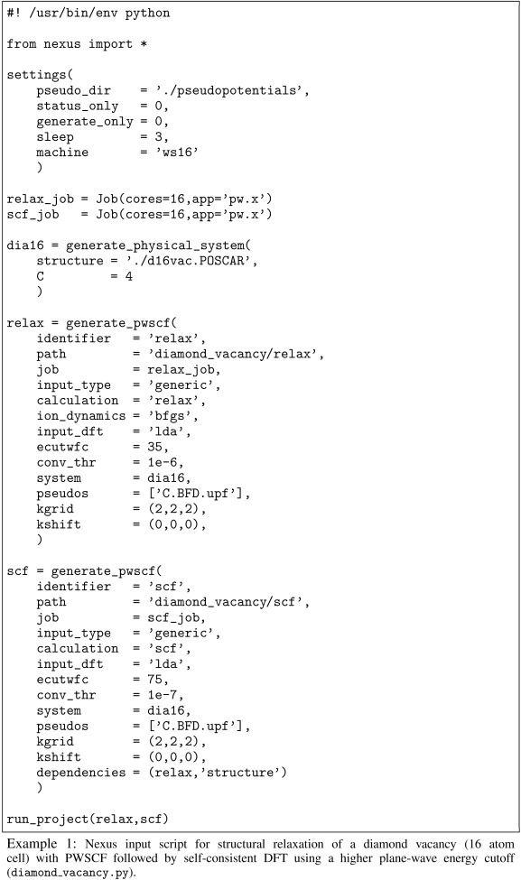 Nexus: A modular workflow management system for quantum