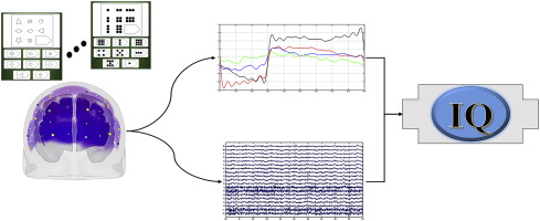 IQ estimation by means of EEG-fNIRS recordings during a