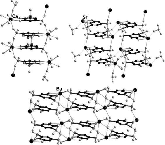 Coordination Polymer Networks With S Block Metal Ions
