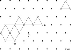 hamiltonian properties of triangular grid graphs sciencedirect
