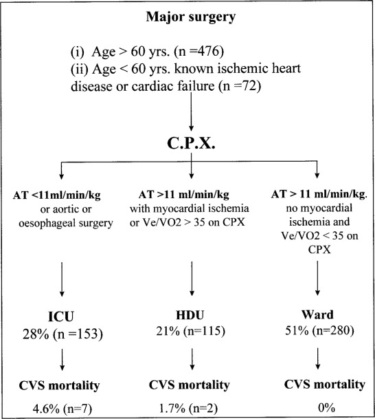 Cardiopulmonary Exercise Testing as a Screening Test for