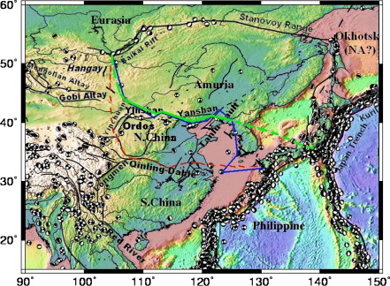 Microplate tectonics and kinematics in Northeast Asia inferred from