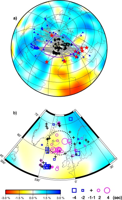 Seismic Evidence For An Iceland Thermochemical Plume In The - What is the latitude and longitude of iceland