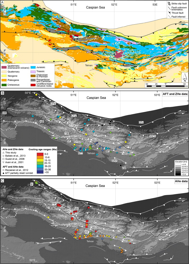 The growth of a mountain belt forced by base-level fall: Tectonics ...
