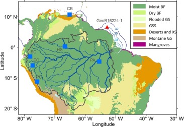 Response of the Amazon rainforest to late Pleistocene climate