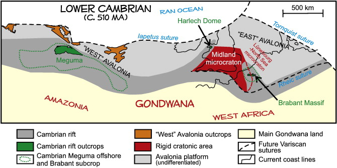 The Cambrian to Devonian odyssey of the Brabant Massif within