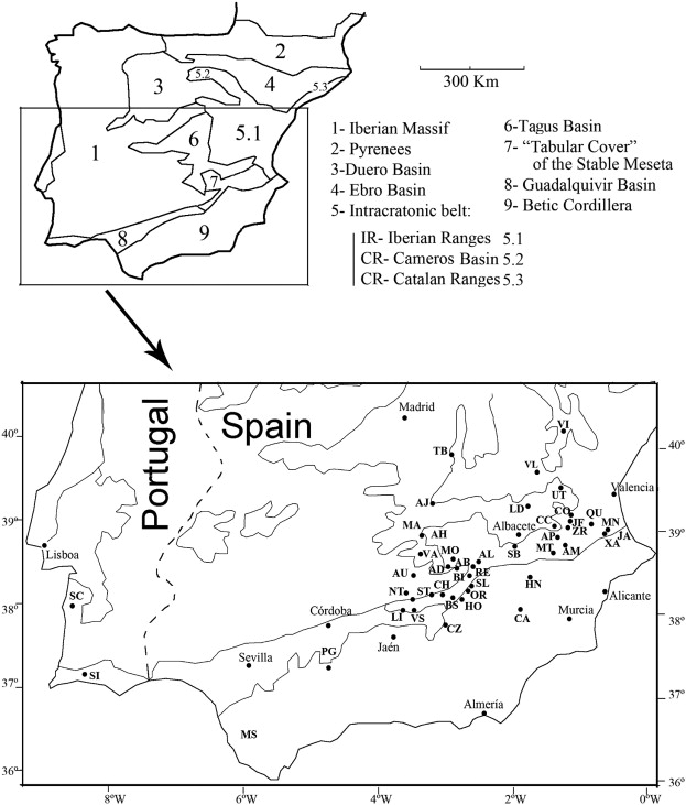 The Carnian Pluvial Event In Western Europe New Data From Iberia
