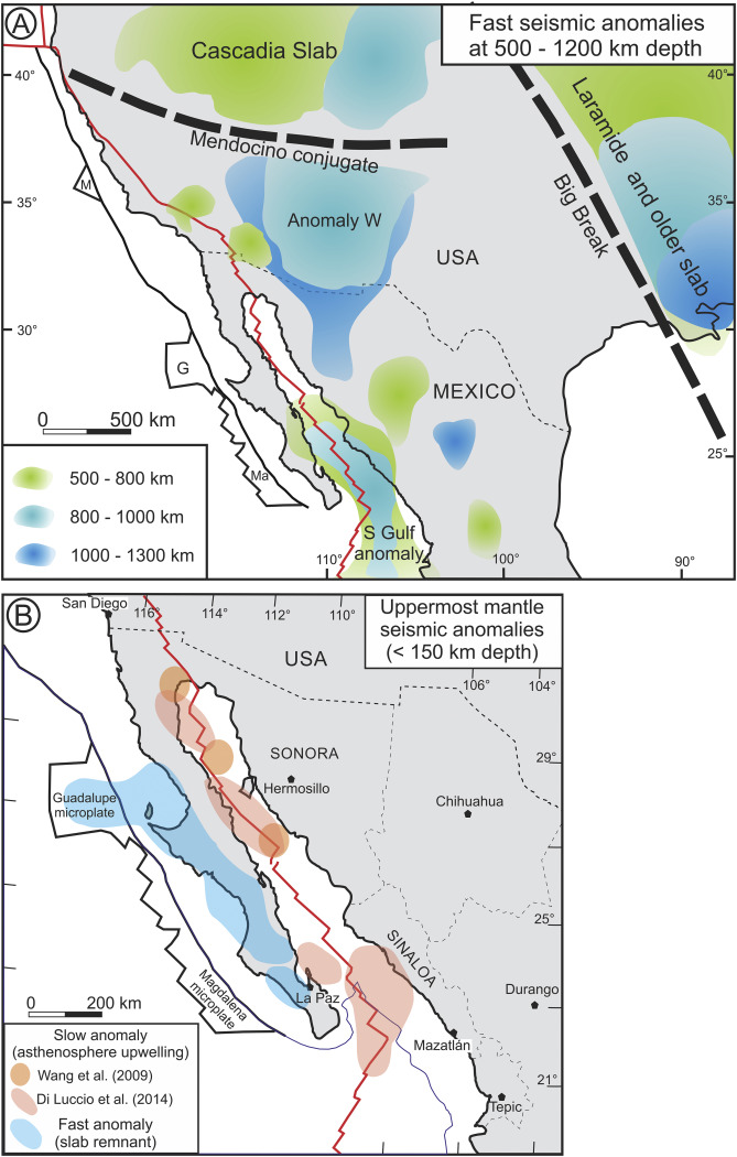 Cenozoic Magmatism And Extension In Western Mexico Linking The Sierra Madre Occidental Silicic Large Igneous Province And The Comondu Group With The Gulf Of California Rift Sciencedirect