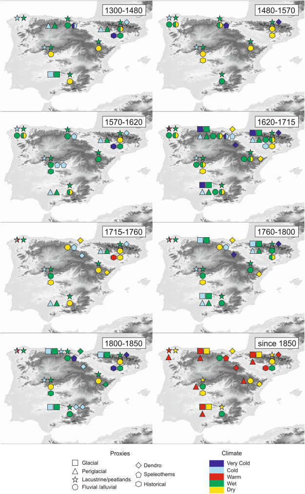 The Little Ice Age In Iberian Mountains Sciencedirect