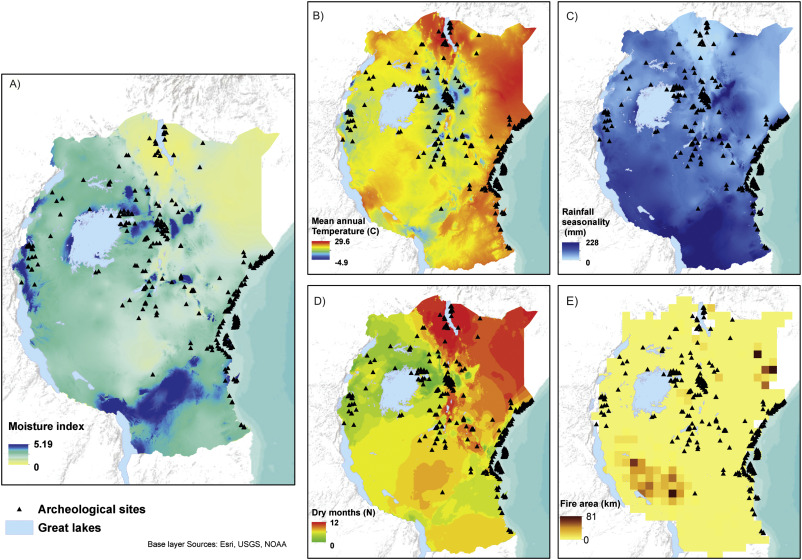 Drivers and trajectories of land cover change in East Africa