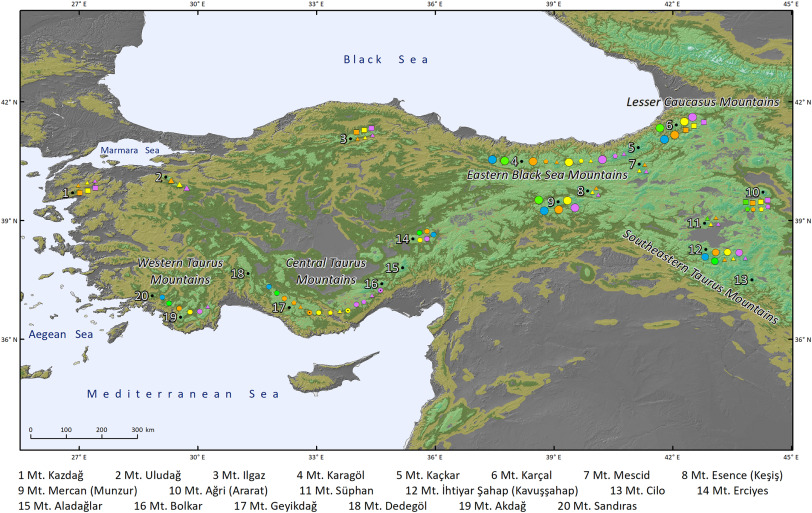Permafrost conditions in the Mediterranean region since the Last