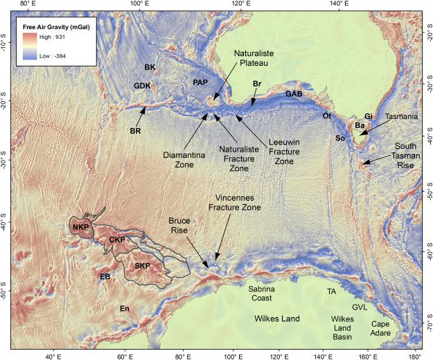 Australian-Antarctic breakup and seafloor spreading ...