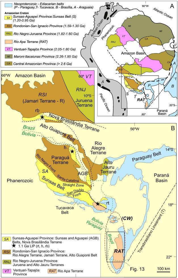 The Rio Apa Terrane Reviewed Upb Zircon Geochronology And