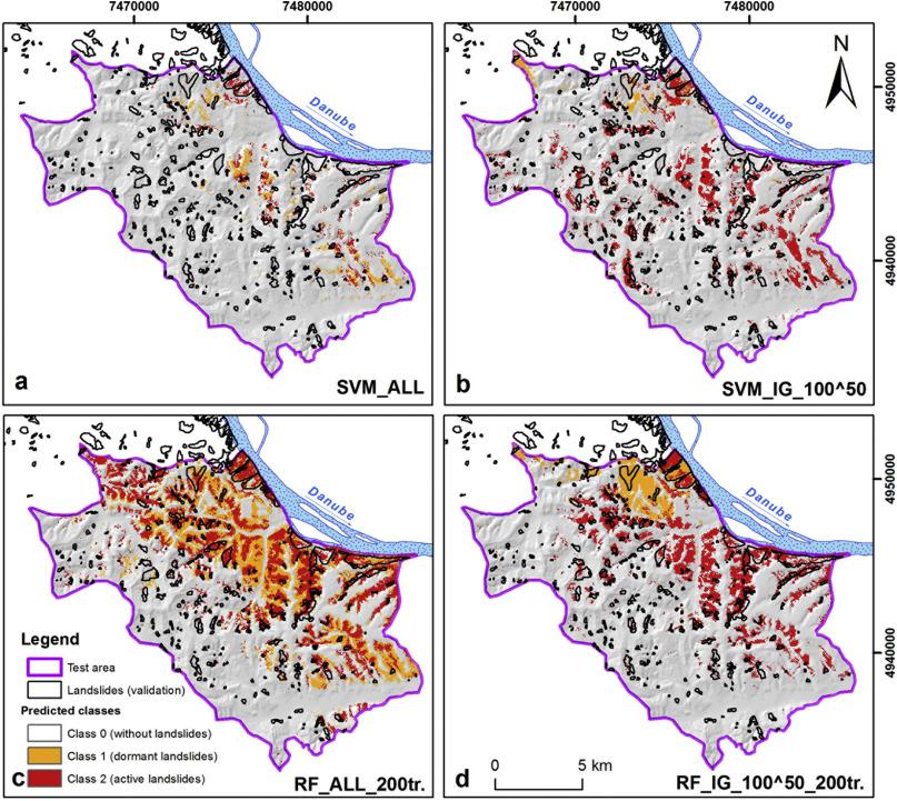 Machine Learning Based Landslide Assessment Of The Belgrade