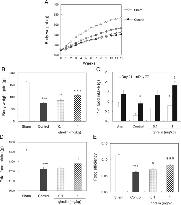Ghrelin Ameliorates Catabolic Conditions And Respiratory Dysfunction