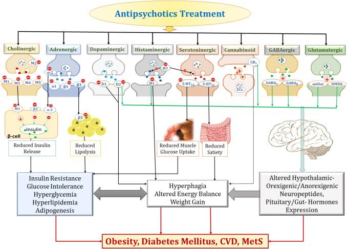 Antipsychotics-induced metabolic alterations: Recounting the