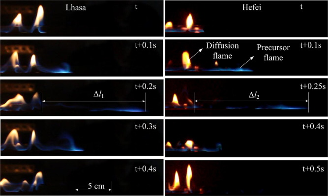 Experimental investigation on flame spread over diesel fuel