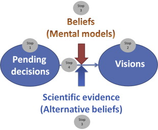 A framework to bridge science and policy in complex decision