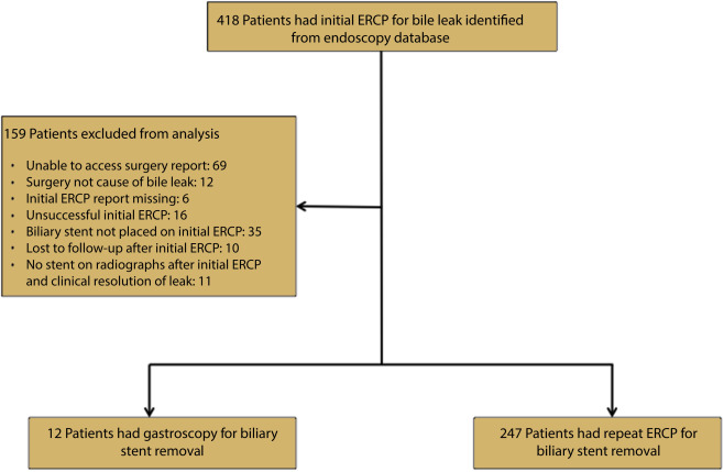 Clinical prediction rule to determine the need for repeat ERCP after