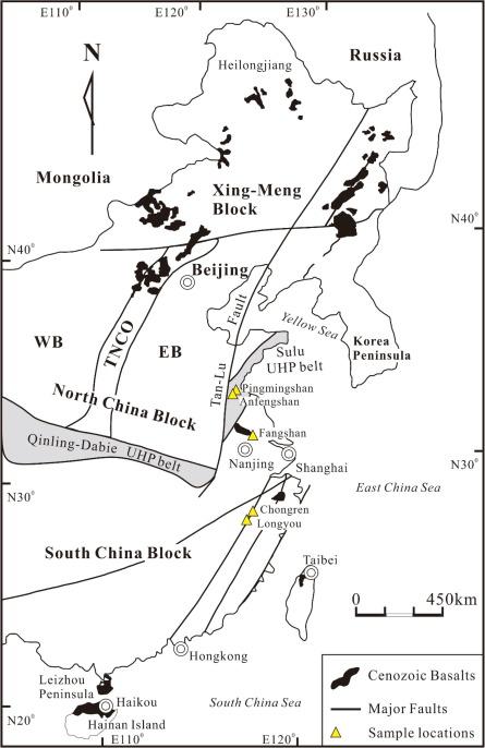 Origin Of Low 26mg Cenozoic Basalts From South China Block And