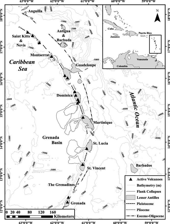 Diagenesis In Tephra Rich Sediments From The Lesser Antilles
