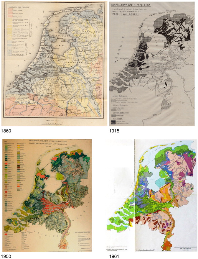 Soil maps of The Netherlands ScienceDirect