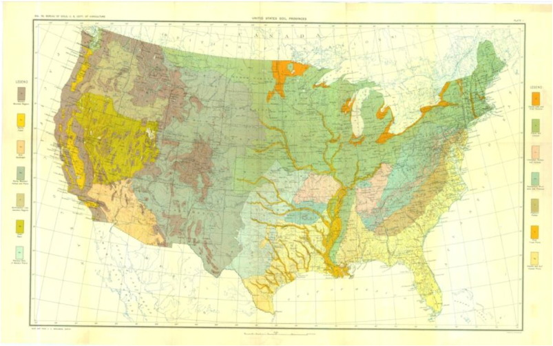 Soil Mapping Classification And Pedologic Modeling History And - Soil resistivity map us