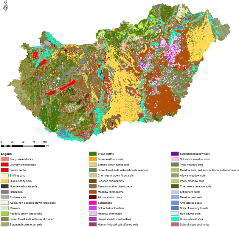 Compilation Of A National Soil Type Map For Hungary By Sequential