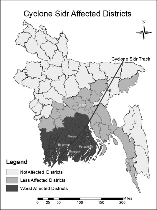 cyclone sidr case study a level