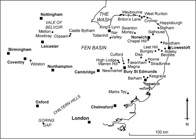 Early And Middle Pleistocene Landscapes Of Eastern England