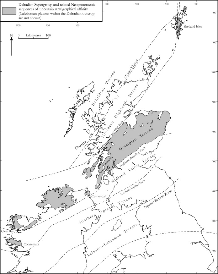 The Dalradian Rocks Of Scotland An Introduction
