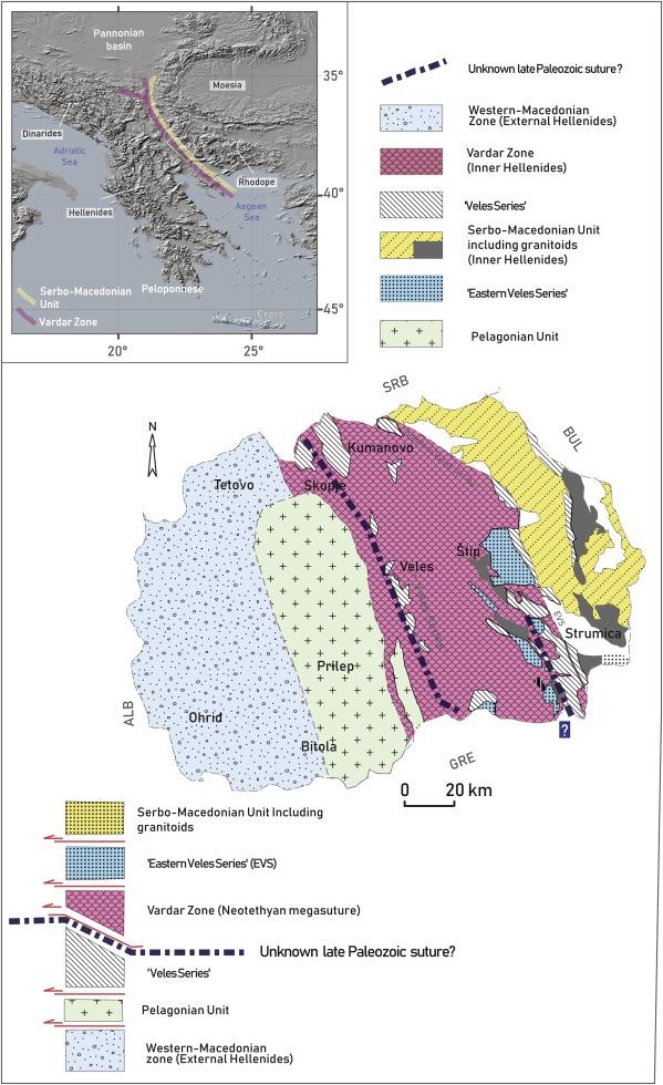 A Hidden Suture Within The Northern Paleotethyan Margin