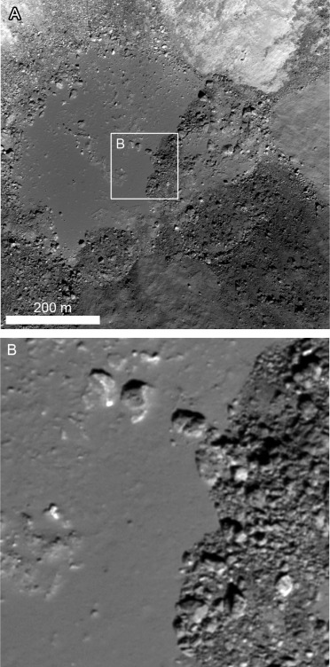 Occurrence and mechanisms of impact melt emplacement at small ...