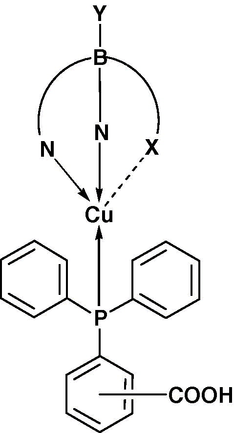 New Diphenylphosphanebenzoic Acid Copperi Derivatives Of