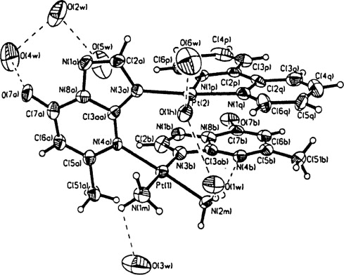 Molecular Structure And Antitumor Activity Of Platinumii Complexes