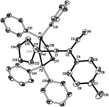 The Synthesis Molecular And Electronic Structure Of Cyanovinylidene