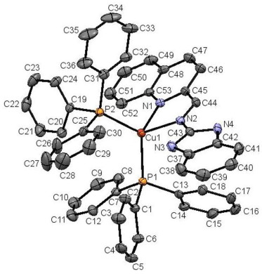 Copperi Complexes Of N 2 Quinolynylmethylene 1h Benzimidazole