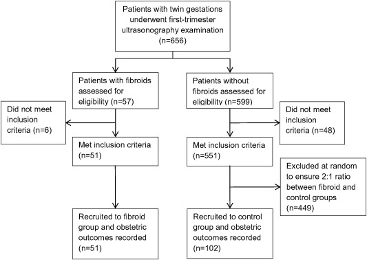 Associations between uterine fibroids and obstetric outcomes