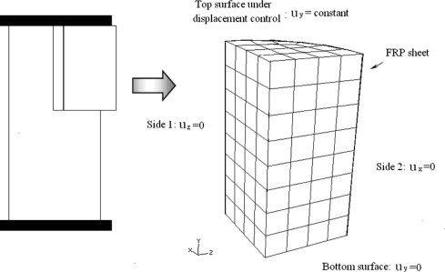 Identification of material parameters for Drucker–Prager