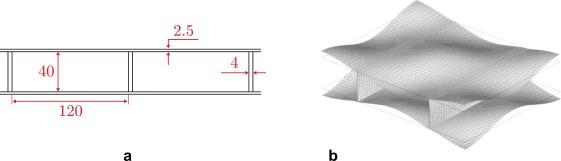A homogenization method for geometric nonlinear analysis of