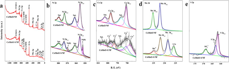 Triple Ni Co Mo Metal Sulfides With One Dimensional And Hierarchical