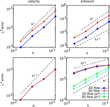 An immersed interface method for discrete surfaces