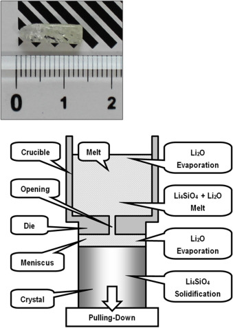 Improvement of the growth of Li4SiO4 single crystals for ... on