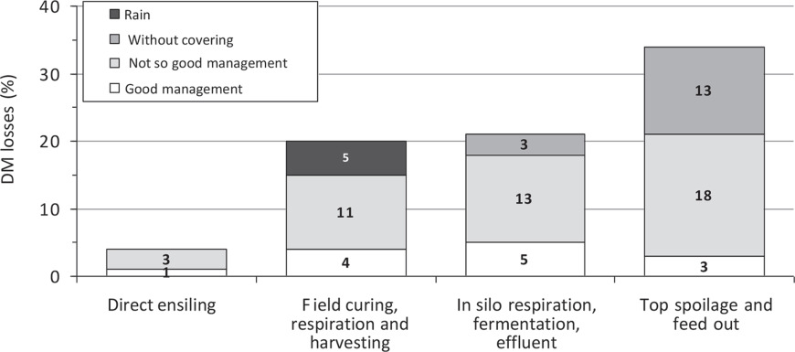 Silage review: Factors affecting dry matter and quality