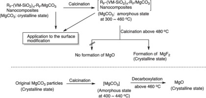 formation of magnesium carbonate