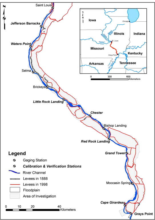 Retro-modeling the Middle Mississippi River - ScienceDirect