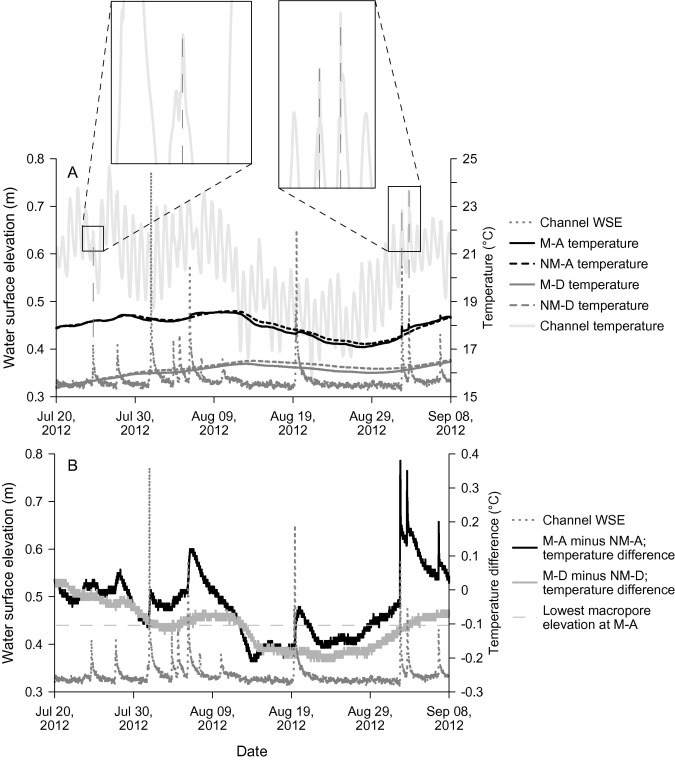 The Effect Of Macropores On Bi Directional Hydrologic Exchange