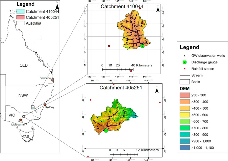 A linked surface water-groundwater modelling approach to
